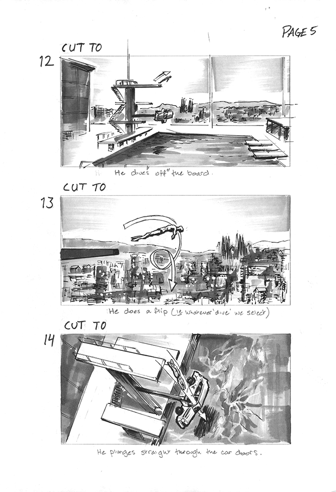 Ford storyboard